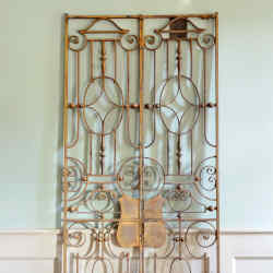 c1928 Strand Palace Hotel iron gates, £1,500 from Lassco