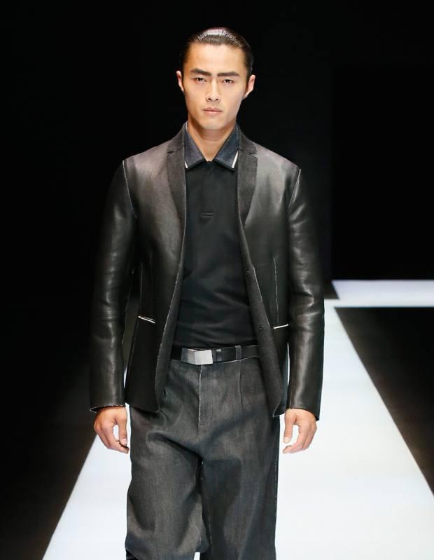 Emporio Armani nappa jacket, £1,400