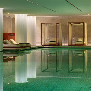 Sally Greene likes to relax in the spa at the Bulgari Hotel, Knightsbridge