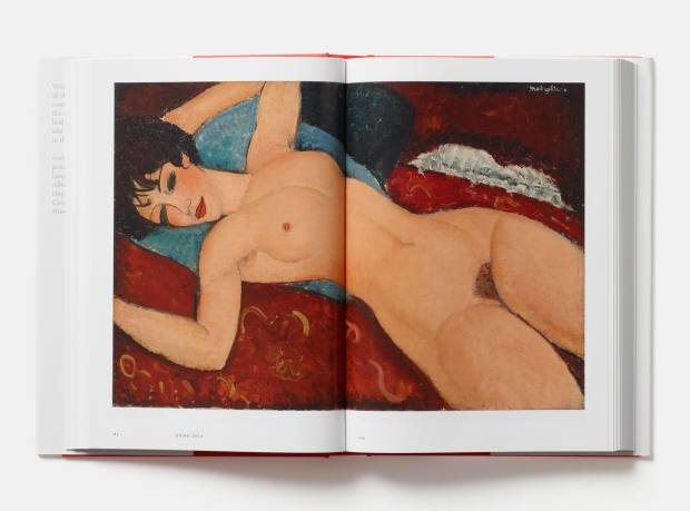 Reclining Nude by Amedeo Modigliani, which Christie's sold for more than $170m in 2015