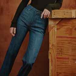 Khaite cotton denim Catherine Trouser Jeans, $300