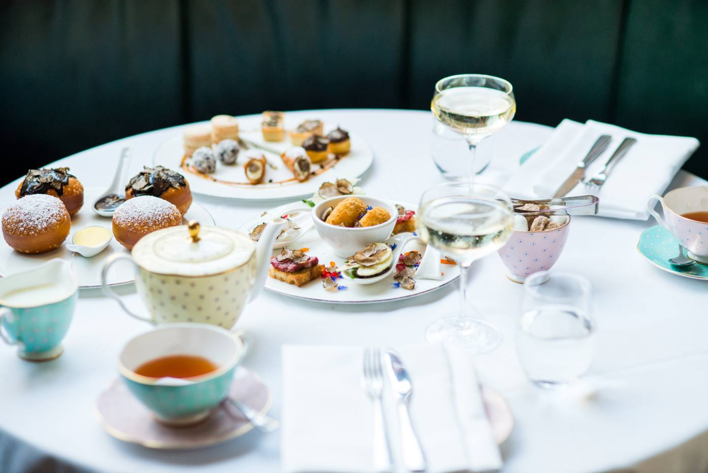 636d52933f0c The Hari s contemporary Il Pampero Italian restaurant will serve a truffle  afternoon tea for one month