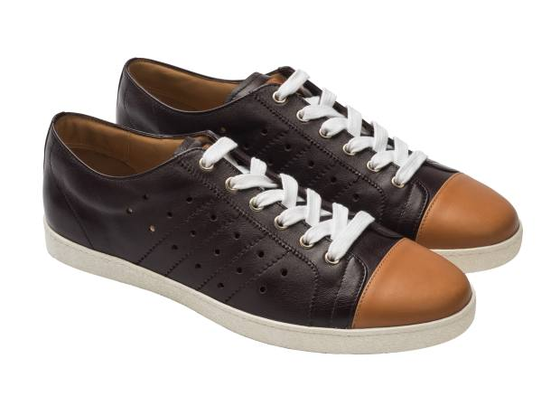 Bally leather sneakers, £270.