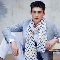 Emanuel Ungaro linen/modal scarf, £130