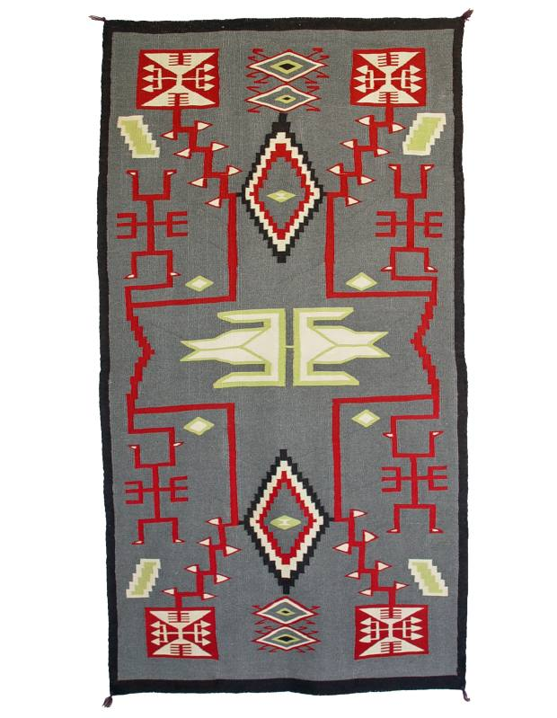 c1870 flannel chief's blanket, $75,000 from Shiprock Santa Fe