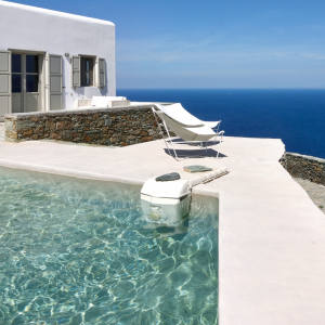 This charming property on Folegandros is the only rental villa on this relatively undiscovered Greek island with a private pool