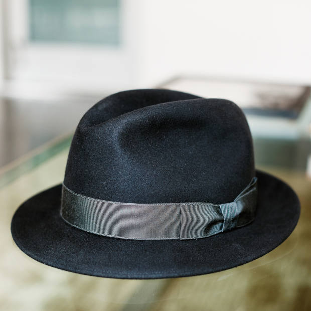Viñoly's Manhattan fedora, from $650, from Optimo in Chicago