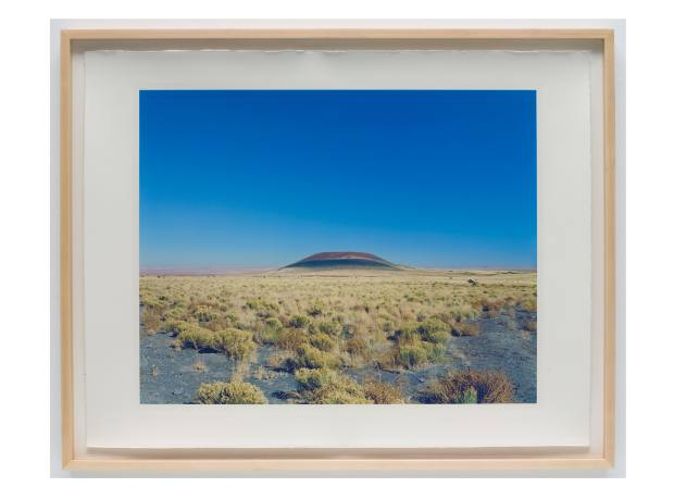 James Turrell.Roden Crater (Blue Sky), 2009.Colour carbon print.29-3/4in x 38-1/4in (75.6cm x 97.2cm).Photo by Kerry Ryan McFate / Pace Gallery