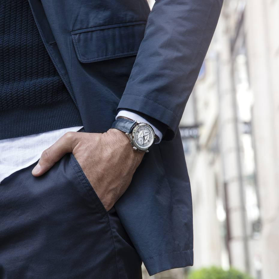 Jaeger-LeCoultre stainless-steel Master Control Chronograph