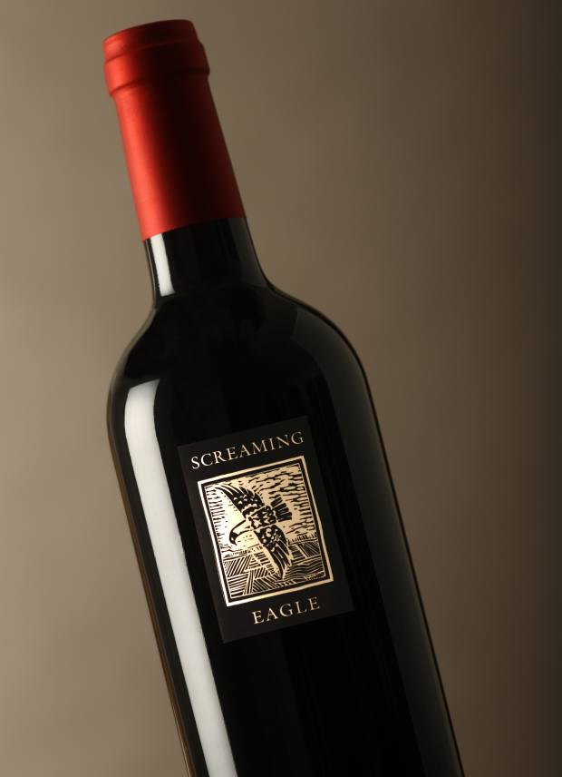A Screaming Eagle 12-litre 2014 vintage (similar offerings have raised $500,000 in previous years)