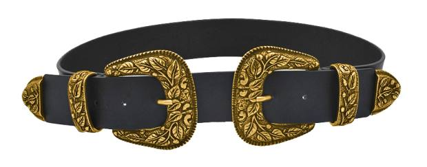 Noani belt, €119: 50 per cent apple skin and brass
