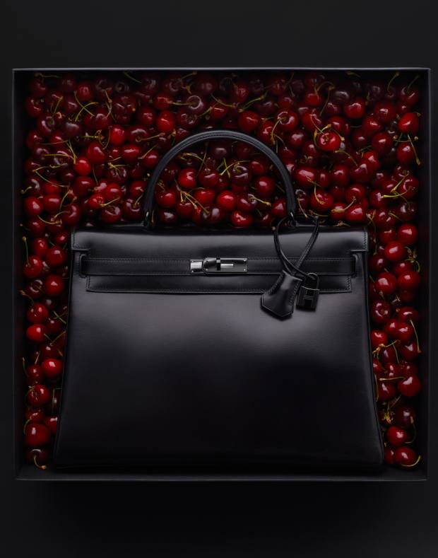 2010 Hermès limited edition calfskin Kelly So Black bag, estimate €15,000 to €25,000