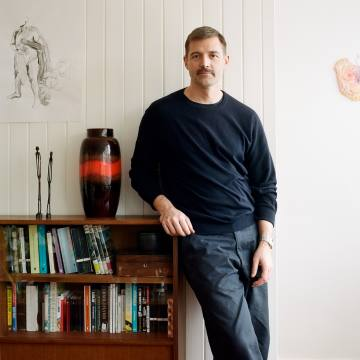 Patrick Grant at home in London