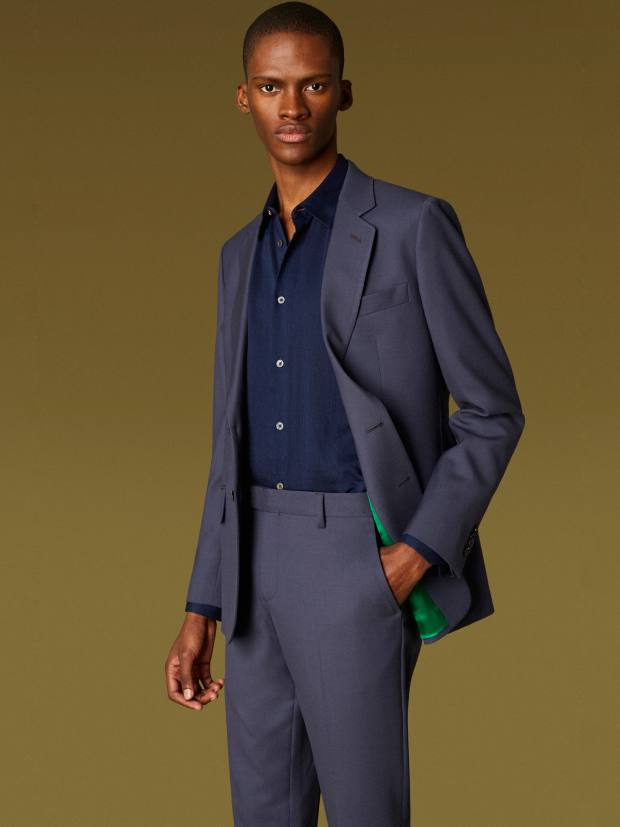 Paul Smith wool Soho-style suit, from £1,300