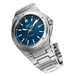 IWC Ingenieur Automatic Edition Laureus Sport for Good Foundation watch, £4,750, from www.iwc.com. www.laureus.com