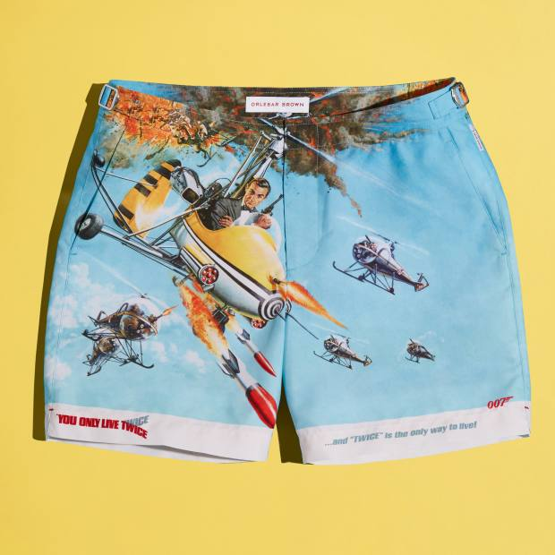 Orlebar Brown Bulldog 007 You Only Live Twice swim shorts, £245