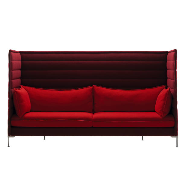 Ronan & Erwan Bouroullec aluminium, steel, fibreglass and foam Alcove Highback three-seater sofa for Vitra, from £6,104