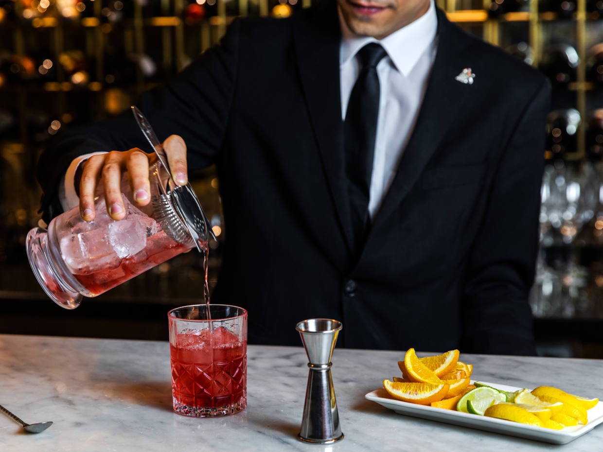 Guests joining the masterclass, priced £49 per person, will be guided through three Negroni recipes – the Classico, Sbagliato and Randall's iconic Negronificio – and create their own bespoke version of the classic cocktail