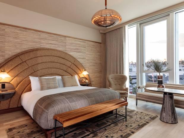 The Kelly Wearstler-designed Santa Monica Proper Hotel