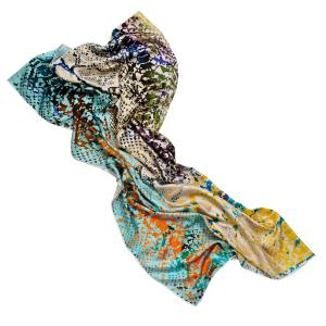 Jane Carr Viper scarf in silk twill, £290. Also in other colourways