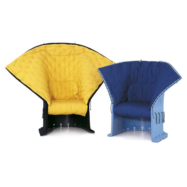 I Feltri armchairs by Gaetano Pesce for Cassina I Contemporanei; from £2,327 (for the blue chair). See text for stockists.