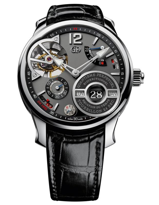 Greubel Forsey white-gold QP à Equation, price on request
