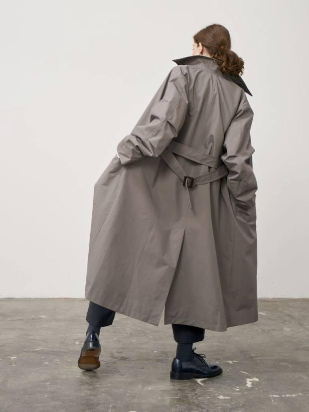 Cotton Maria raincoat, £950