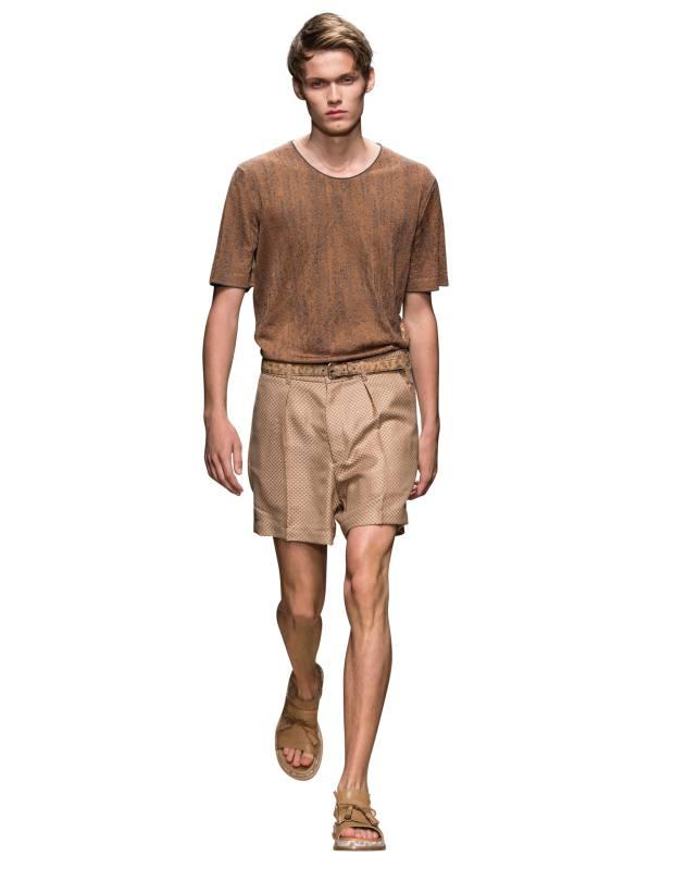Salvatore Ferragamo silk/cotton tee, £1,010