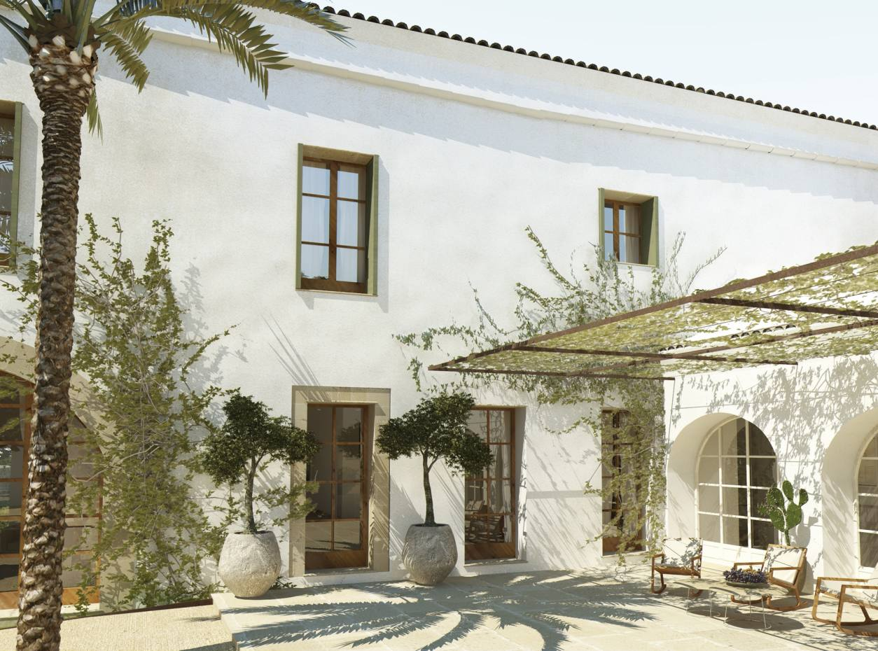Torralbenc hotel in Menorca, set on 70 acres with views of the Mediterranean