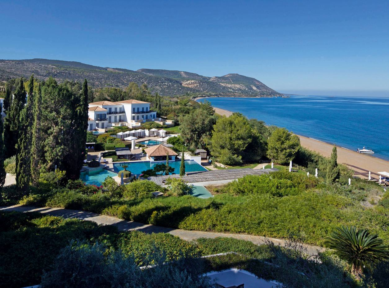 The reopened Anassa resort on Cyprus's northwestern peninsula