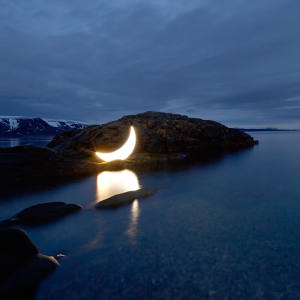 Private Moon by Leonid Tishkov can be seen at Fjord Oslo