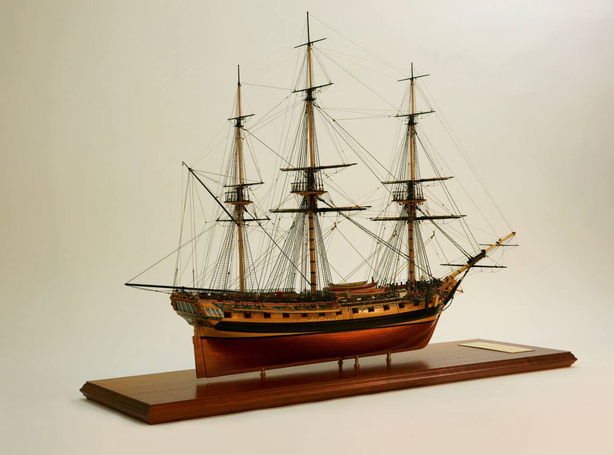 Malcolm Darch's Minerva took more than 6,700 hours to build.