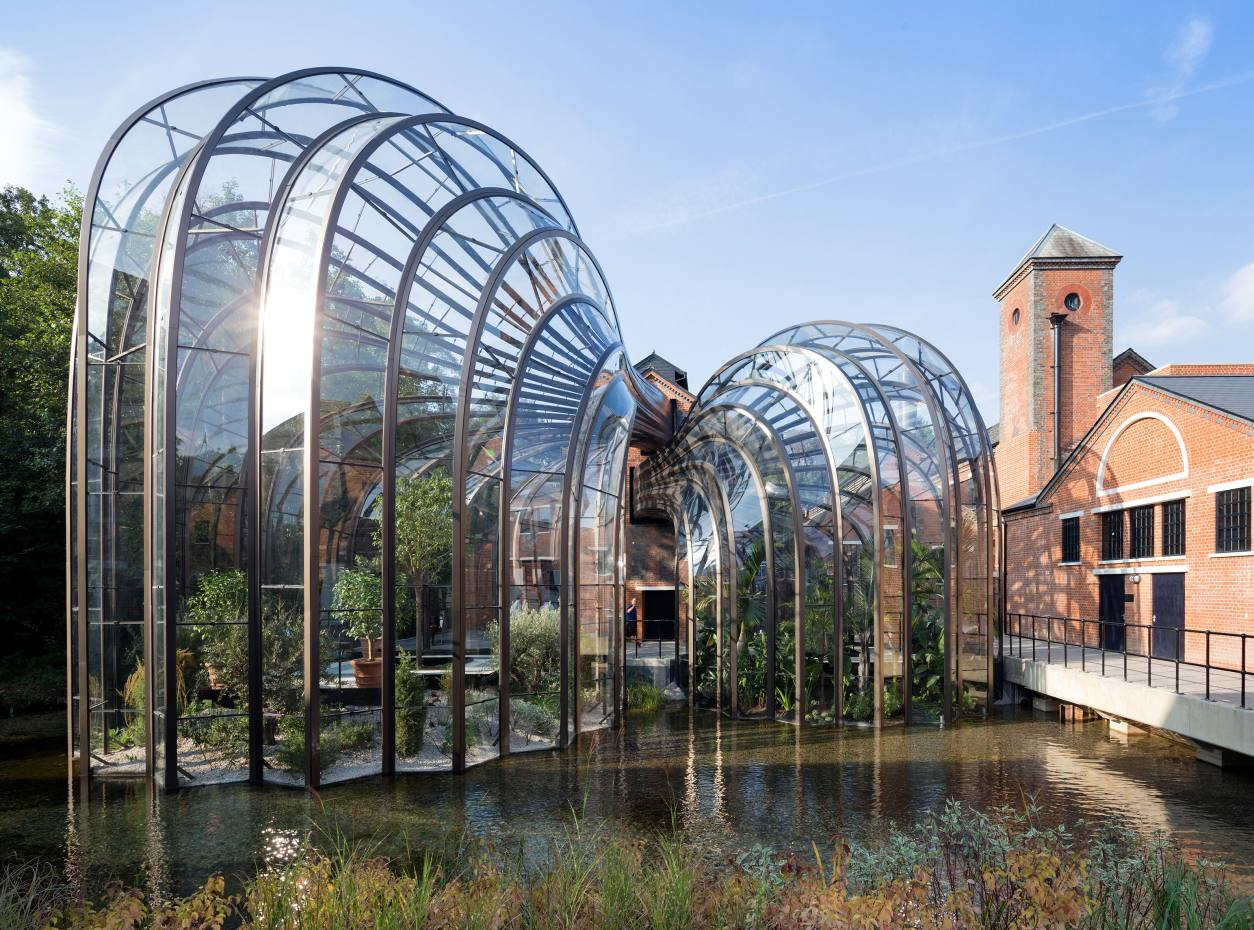 The Bombay Sapphire distillery at Laverstoke Mill 3