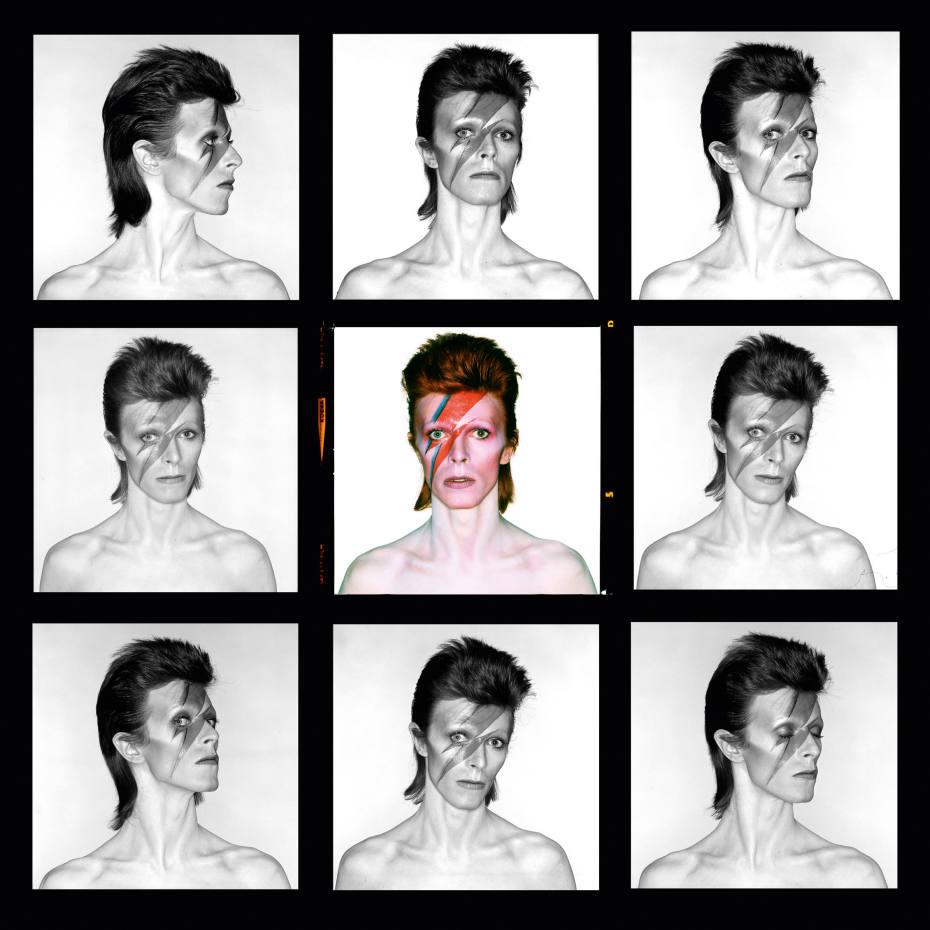 Bowie Ziggy Contact Sheet by Brian Duffy