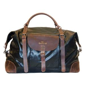 Gandys canvas and leather weekend bag, £185. for Gandys'Orphans for Orphans initiative