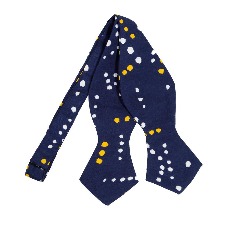Drake's silk bow tie, $145