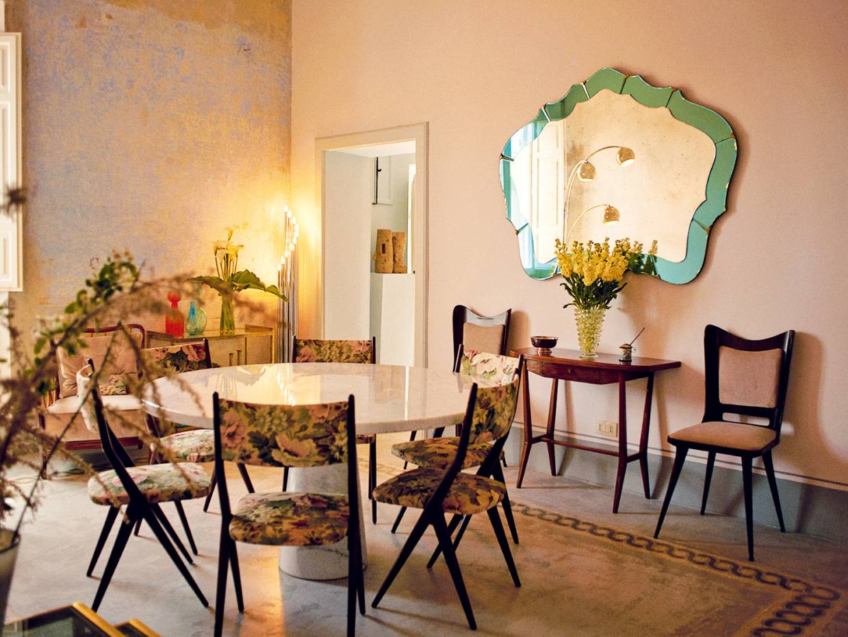The elegant new bed and breakfast Casa Iris inhabits a 16th-century palazzo in the southern Tuscan town of Orbetello