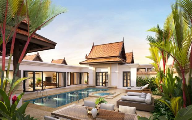 Banyan Tree Residences in Thailand are priced from about £2.5m through Savills