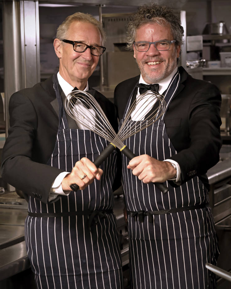 Chris Corbin and Peter Gordon, who established Who's Cooking Dinner? two decades ago