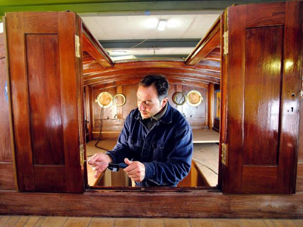 Theboat will showcase therestoration work of theFrancesco Del Carlo boatyard in Viareggio