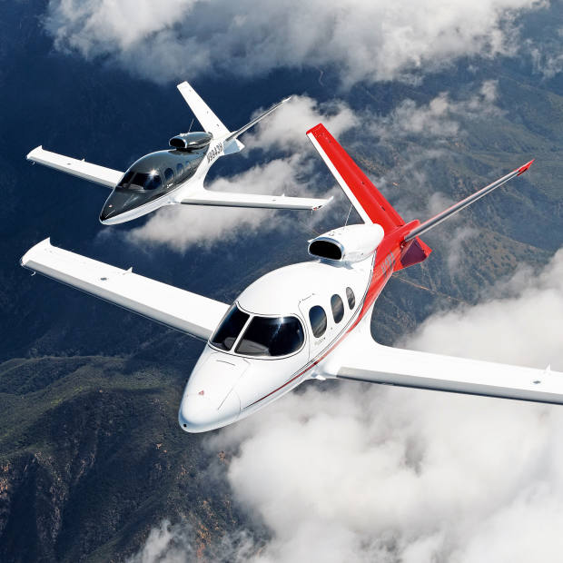 The Vision Jet starts from $1.96m – small private jets tend to cost at least twice that, and the Vision's closest rival has a price tag of about $3m