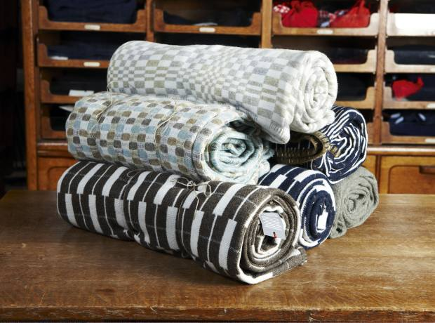 Patterned blankets by Eleanor Pritchard, from £179.95