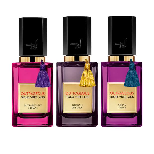 Diana Vreeland Outrageous collection, £250 each for 50ml parfum