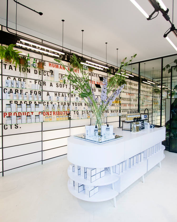 Marie-Stella-Maris's flagship store in Amsterdam