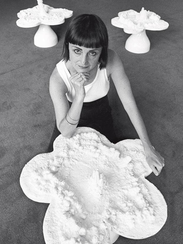The late sculptor,photographer and installation artist Helen Chadwick