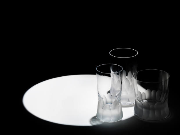 Tumblers from the Cuttings series by Martino Gamper for J Hill's Standard, from €120