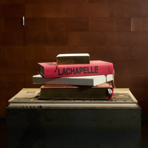 Books include David LaChapelle's limited-edition Artists & Prostitutes, from €3,000