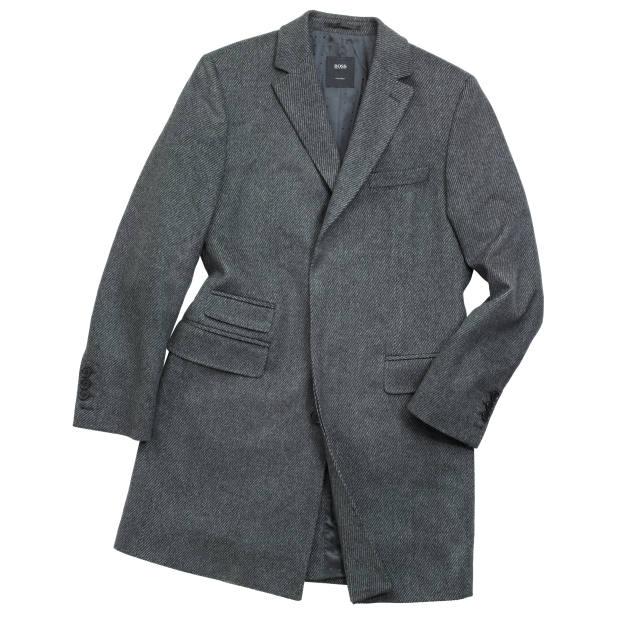 Hugo Boss wool/cashmere T-Neon coat, £700