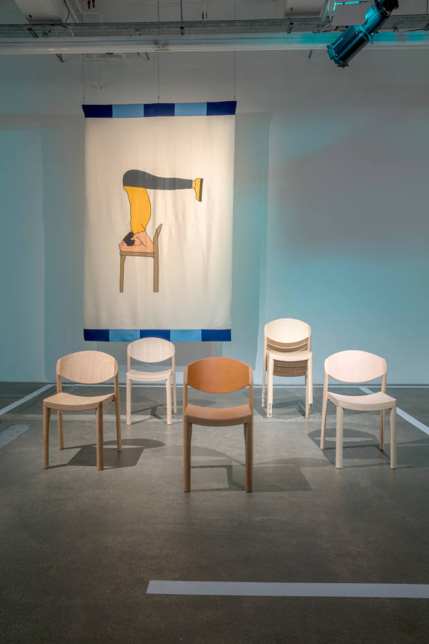 Mauro Pasquinelli's Mauro chair (from £410) was first conceived in 1976