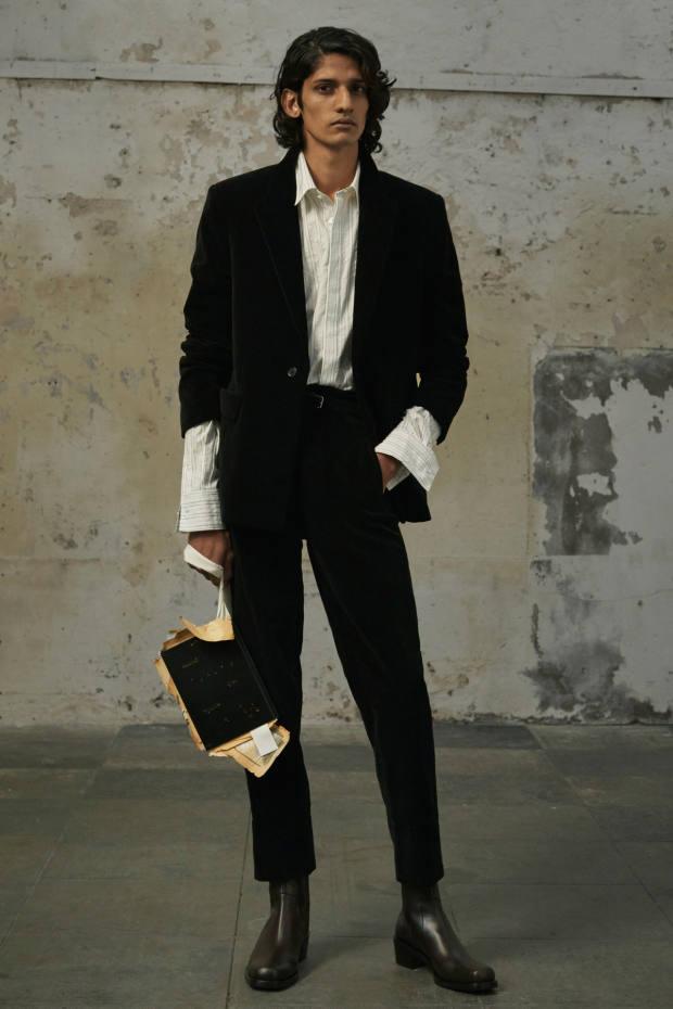 Rochas cotton-velvet jacket, £1,750